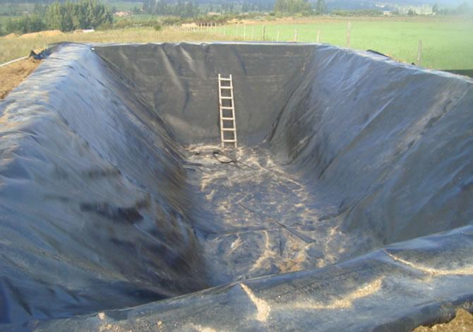 Sigeoteg geomembrana suministro e instalaci n for Construir laguna artificial